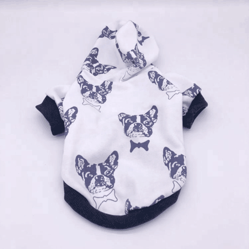 Custom Dog Coats Cotton Bulldog Pet Hoodies 06-1189 Custom Dog Coats Cotton Bulldog Pet Hoodies 06-1189