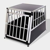 Aluminum Dog cage Large Single Door Dog cage 65a 06-0768 Aluminum Dog cage: Pet Products, Dog Goods Large Single Door Dog cage 65a 65